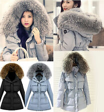 Women's real Duck Down jacket 100% real fur Down coat Outerwear winter parka A+