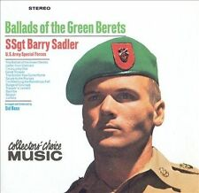 Ballads of the Green Berets Barry Sadler (CD, 1999, Collectors' Choice)
