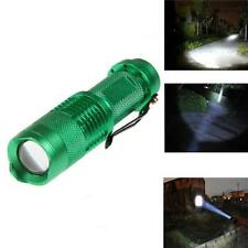 UltraFire CREE Q5 2000LM 7W Zoomable Waterproof LED Flashlight Torch Light DX
