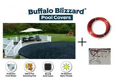 Deluxe Round & Oval Above Ground Swimming Pool Winter Covers - VARIOUS SIZES