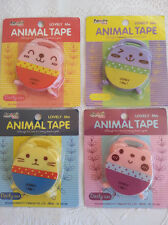 * 1 Craft Retractable Tape Measure* Key Ring Pocket Size  * 4 colours *