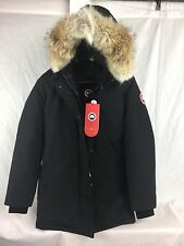NEW Canada Goose VICTORIA PARKA BLACK WOMENS JACKET DOWN AUTHENTIC HOLOGRAM