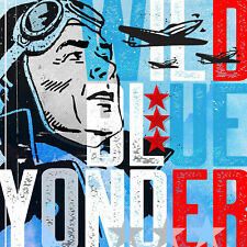 """""""Wild Blue Yonder Pilot"""" by Rick Martin Painting Print on Wrapped Canvas"""