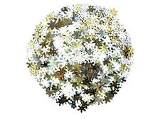 Assorted 14mm Snowflake Sequins