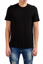 Rick Owens Men's Crewneck Silk Black Short Sleeve T-Shirt Size M L