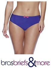 Brand New Lepel Lingerie Lyla Mid Rise Brief in French Navy BNWT Sizes 8-18