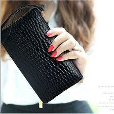 Fashion Lady Women PU Leather Long Purse Clutch Wallet Zip Card Holder Handbag