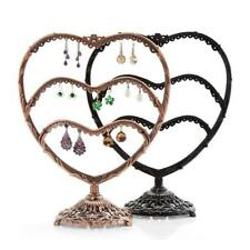 29 Pair Earring Jewelry Show Metal Love Wave Display Rack Stand Organizer Holder