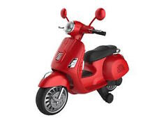 Kids 6v moped Vespa style electric scooter electric e scooter motorbike ride on