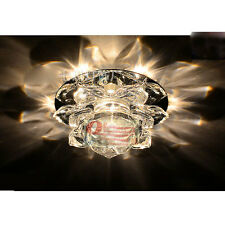 Modern 10cm 3W Crystal LED Ceiling lights chandeliers Colorful Aisle lights 1041