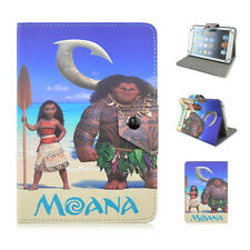 """Moana Cartoon Case for7"""" 7.9"""" Tablets PU Leather Protective Stand Magnetic Cover"""