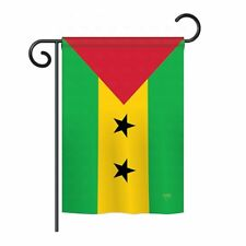 Two Group Flag Co Sao Tome and Principe 2-Sided Vertical Flag