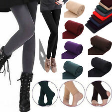 Women Winter Warm Thick Fleece Lined Thermal Stretchy Skinny Slim Leggings Pants