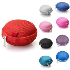 Mini Portable Earphone Earbuds Protective Bag USB Cable Coins Purse Case Cover
