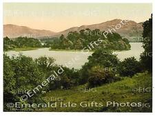 Lough Gill Lake colour Old Irish Photo Print - Ireland - Size Select - Sligo