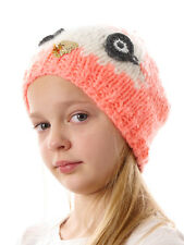 Barts Winter Hat Knitted cap pink Fleece lined Eyes Patch