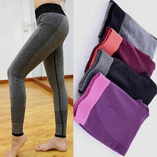 New Women High Waist Yoga Workout Sport Stretch Leggings Pant Fitness Trousers