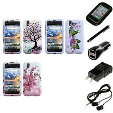 For LG Optimus Black P970 Design Snap-On Hard Case Phone Cover Headphones