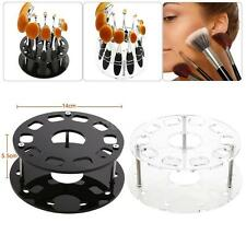 Oval Makeup Brush Holder 10 Hole Cosmetic Brush Display Stand Organizer S3B7