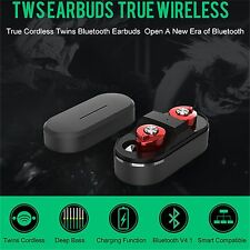 Mini Twins Wireless Bluetooth Stereo Earphones Earbuds Smart Phone Headset