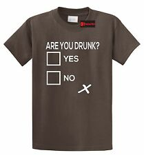 Are You Drunk Check Funny T Shirt Alcohol Beer Party Gift Bar Tee Shirt