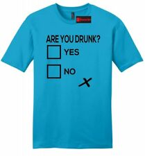 Are You Drunk Check Funny Mens Soft T Shirt Alcohol Beer Party Gift Bar Tee Z2