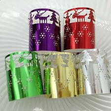6x Tea Light Candle Holders Home Decoration Paper Candle Lanterns Lamp Shades