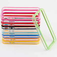 TPU Silicone Frame Bumper Hard Case Cover Skin for iPhone 4G 4S WSXD
