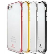 ShockProof Silicone Bumper Clear Slim Case Cover Skins For apple iphone 7 7Plus