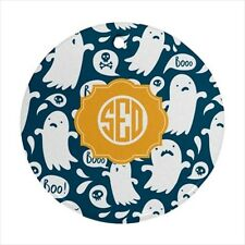 Halloween Spooky Ghost Monogram Ornament -  Personalized Initials