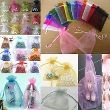 Jewellery 50pcs Wedding Favor Gift Bags Candy Bags Packing Pouches Organza