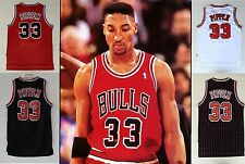 Bulls 90th Scottie Pippen Retro Basketball Jersey Stitched All Styles Throwback