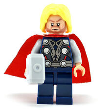 Lego Super Heroes Minifigure - Thor (Brand New & Sealed) fits lego