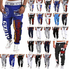 Men Casual Jogging Sports Training Sweat Pants Tracksuit Bottoms Jogger Trousers