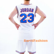 Michael Jordan 23 Basketball Jersey Tune Squad Space Jam Movie Stiched Shirt New