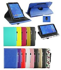Universal 360 Degree Rotating Wallet Case Cover fits 9 - 10 inch Tablet & Stylus