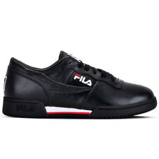 "FILA ""Original Fitness"" Sneakers (Black/White/Red) Men's Athletic Retro Shoes"