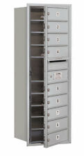 Salsbury Industries 9 Door Front Load 4C Horizontal Mail Center