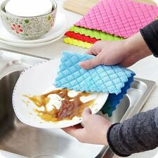 Cloth Cleaning Cloth Kitchen Rags Dish Cloth High Efficient Washing Towel