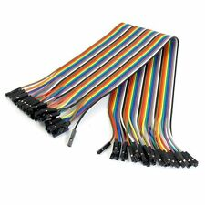40PCS 20cm Dupont Jumper Wire Cable 2.54mm 20cm For Arduino Breadboard FE Hot