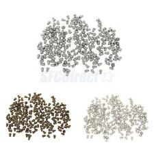 200pcs Earring Stud Backs Butterfly Stoppers Jewelry Findings 3 Colors