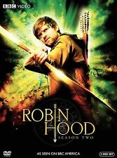ROBIN HOOD SEASON TWO REGION 1 BBC  NEW SEALED Authentic