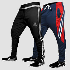 Pair Of Mens Training Tracksuits Bottom Pants Joggers Exercise Running Sports