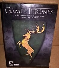 GAME OF THRONES Renly Baratheon SHIELD WALL PLAQUE Limited Edition of 1000 NEW