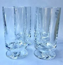 Nambe Grove High Ball Glasses