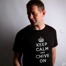 Authentic Keep Calm and Chive On Black Tee - KCCO - Medium, Large, and XL