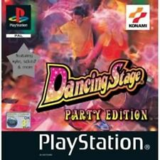 Dancing Stage Party Edition PS One Used
