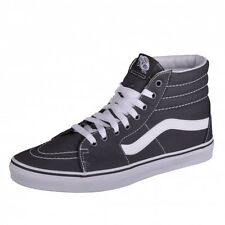 Vans Sk8-Hi (Canvas) Asphalt Trainers Shoes Hightops gray Boat VN0A32QGMX1