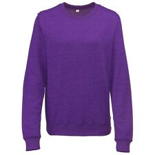 AWDis Girlie Heather SWEATSHIRT Ladies Womens Fit Lightweight Sweat Top