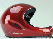 Paragliding and Hang Gliding Full face helmet | Cloud Caser | LARGE | RED